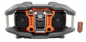 Ridgid ZRR84082 Jobsite Radio