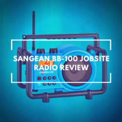 Sangean BB-100 Jobsite Radio Review
