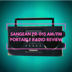 Sangean PR-D15 AM/FM Portable Radio Reviews