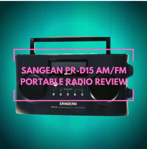 Sangean PR-D15 AM/FM Portable Radio Reviews