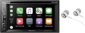 pioner multimedia double din in dash 6.2